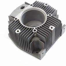 Electric Motor End Cap. Machined Precision Sand Cast Aluminium L169 TF 12.6 Kg 390mmx390mmx300mm